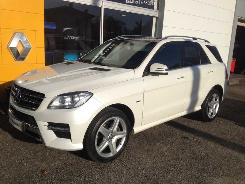 MERCEDES CLASSE M 3 III 350 BLUETEC 4MATIC FASCINATION BVA7