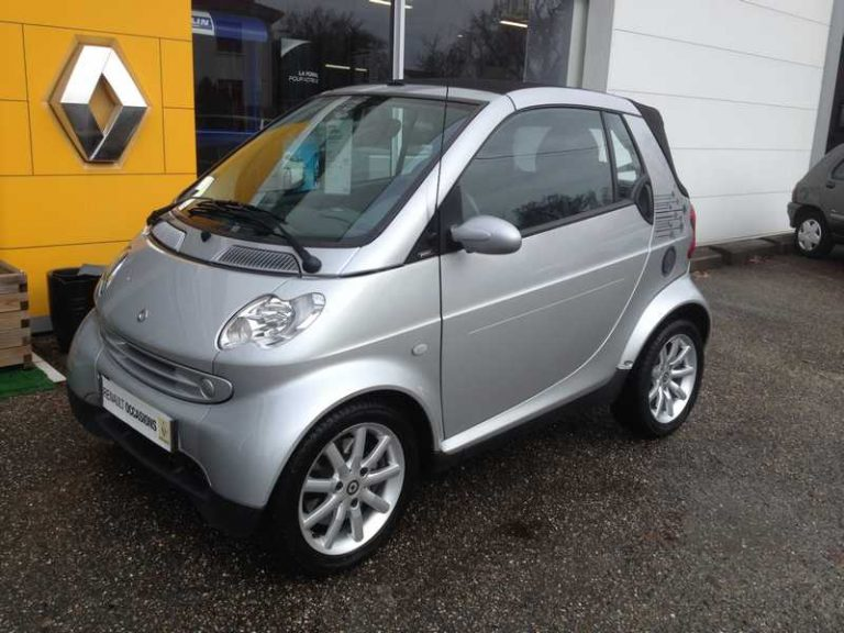 SMART FORTWO CABRIOLET & PASSION 45 KW SOFTOUCH