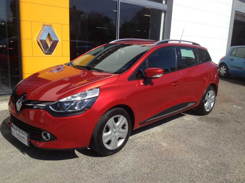 RENAULT CLIO 4 ESTATE 1.5 DCI 90 ENERGY DYNAMIQUE ECO2 90G