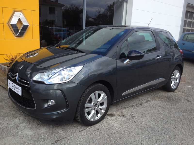 CITROEN DS3 1.6 VTI 120 SO CHIC BVA