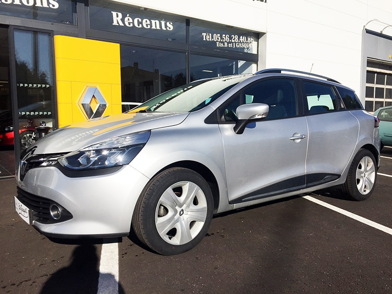 RENAULT CLIO IV ESTATE 1.5 DCI 90 BUSINESS 90G ECO2