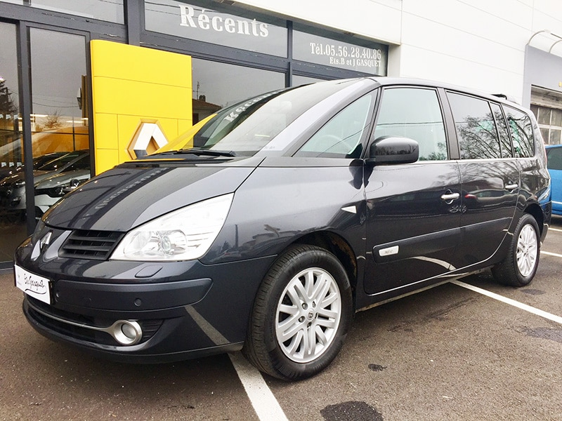 RENAULT GRAND ESPACE IV INITIALE 2.0 DCI 150 BVM6 7 PLACES