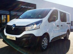 RENAULT TRAFIC III CABINE APPROFONDIE L1H1 1200KG DCI 125